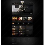 Facebook HTML CMS Webmaster Design #42273