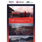 WordPress Travelling Design #85752
