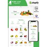 Shopify Pureleaf Design #86041