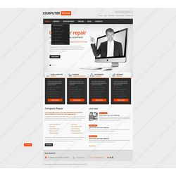 Facebook HTML CMS Recovery Design #42234