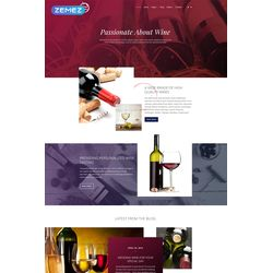 Joomla Alcohol Design #62225
