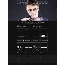 Magento E-cigarettes Design #50781