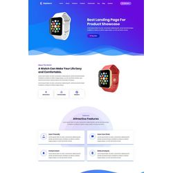 Landing Page One-page Design #99212