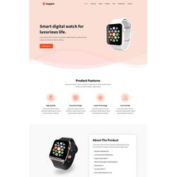 Landing Page Product-page Design #99220