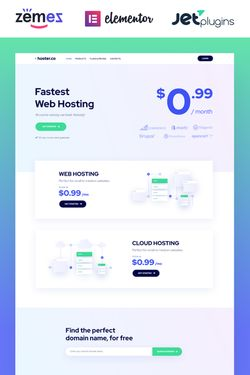 WordPress Theme Design #86942