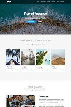 Landing Page Responsive Design #90411