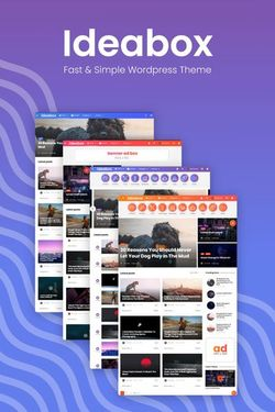 WordPress Magazie Design #98857