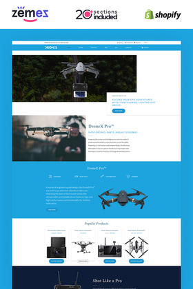 Shopify Ghostdrone Design #85247