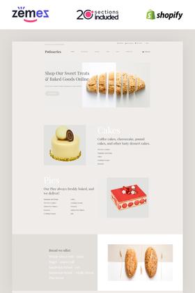 Shopify Bread Design #85486