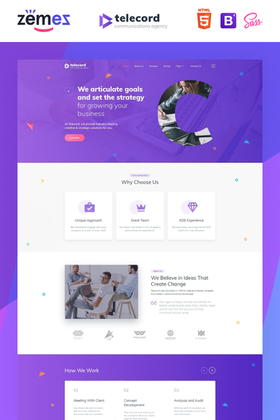 Website Easy Design #87001